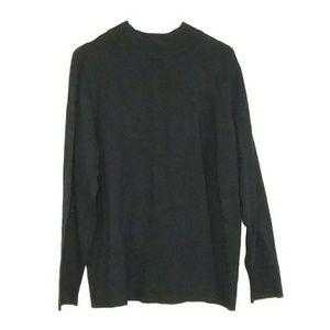 NWT Charter Club Size XL Black Sweater